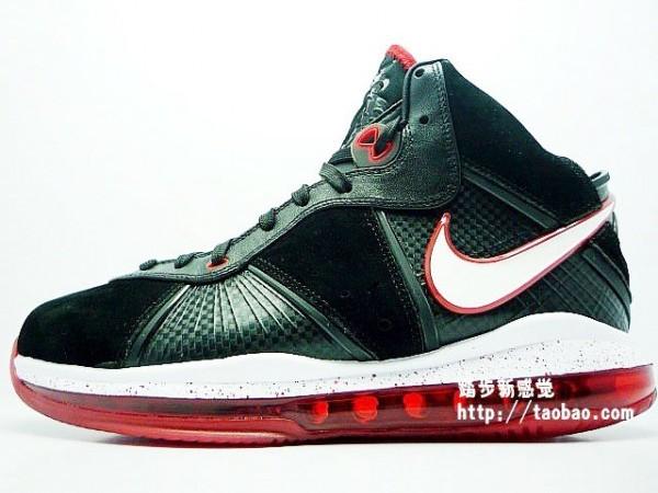 timeless design f442b 7ecd9 ... Black White-Sport Red-Metallic Gold. Nike Air Max LeBron VIII 8 8211  BlackWhiteRed 8211 Detailed Photos ...