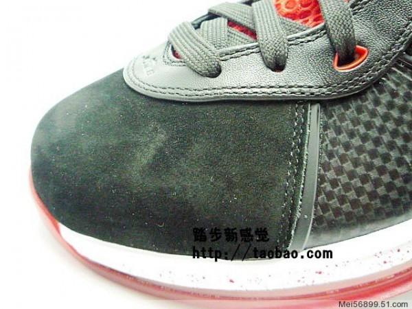 Nike Air Max LeBron VIII 8 8211 BlackWhiteRed 8211 Detailed Photos