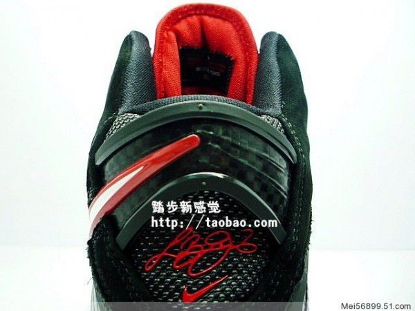 cheaper e76c8 d405f Nike Air Max LeBron VIII 8 8211 BlackWhiteRed 8211 Detailed Photos .
