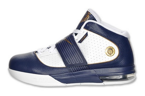 Nike Zoom Soldier IV WhiteNavyGold Available Akron Home