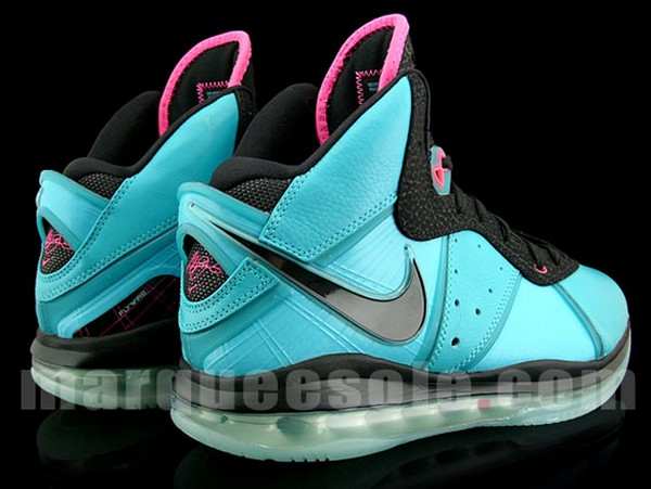 Detailed Look at Miami8217s 417098401 Nike LeBron 8 8220PreHeat8221