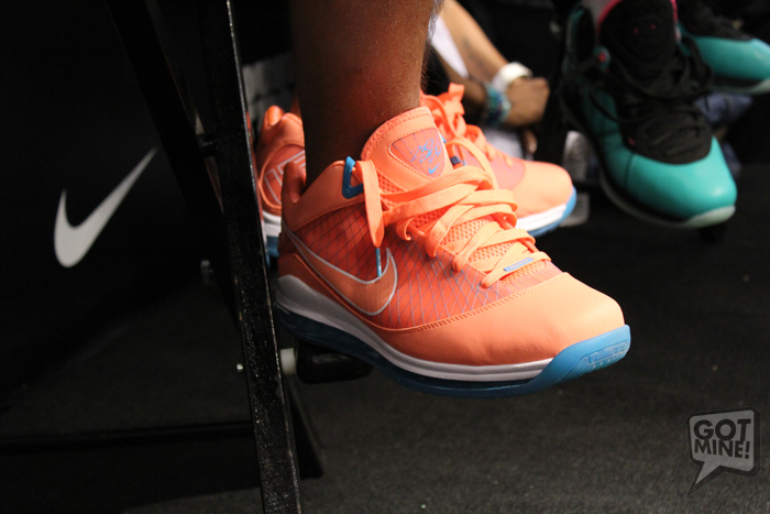 ... LeBron James Debuts the South Beach 88217s Grand Opening of Dadeland  Mall House of Hoops Miami ...