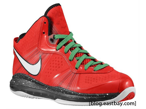 First Look at Nike Air Max LeBron 8 V2 Christmas Exclusive