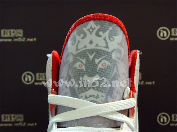 Nike LeBron 8 V2 Flywire 8211 WhiteGreyVarsity Red 8211 New Photos