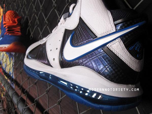 Fresh Look at Nike LeBron 8 Personalized for Dallas Mavericks