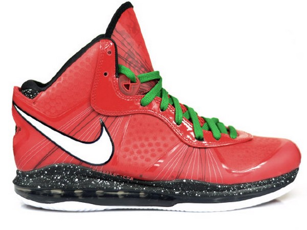 A Fresh Look at Nike Air Max LeBron 8 V2 Christmas Edition