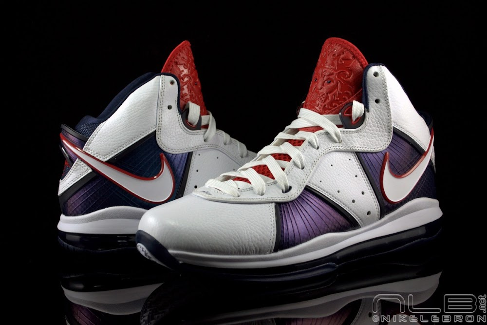 Nike LeBron 11 USA White Navy Red