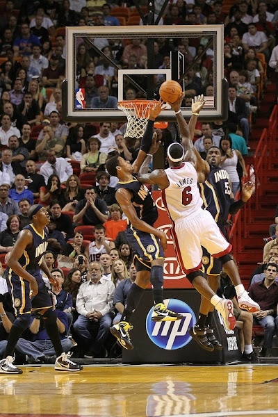 Pacers Pound Heat for Second Straight Loss Miami Drops to 86