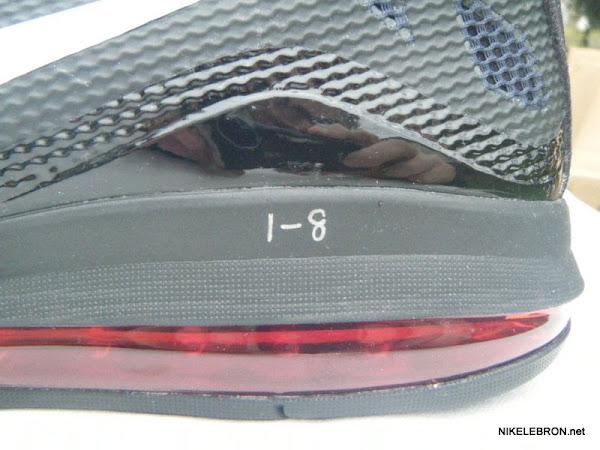 Nike Air Max LeBron VII 7 X Hyperfuse Wear Test Sample