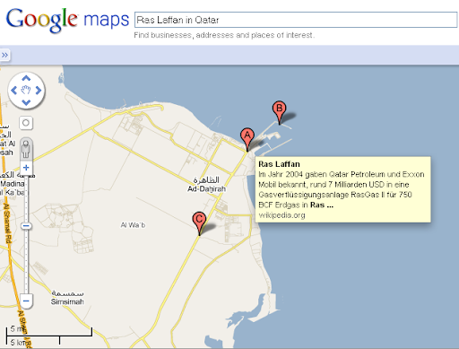 google maps qatar. Google map is widely used by many engineer to locate longitude and latitude