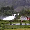 Flåmsdalen - údolí podél železnice