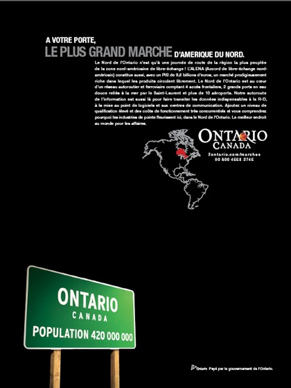 invest in ontario advertising