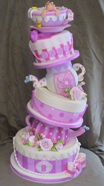tea party topsy baby shower