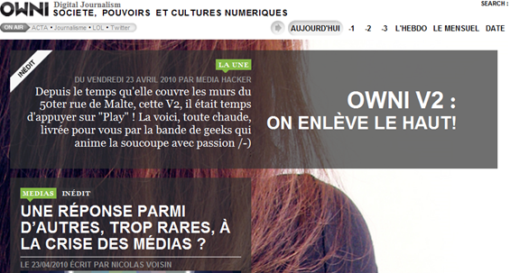 Owni digital journalism V2