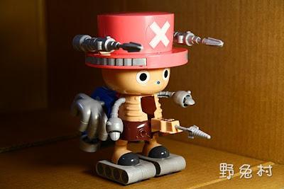 [盒玩-敗物] 喬巴機器人之六神合體