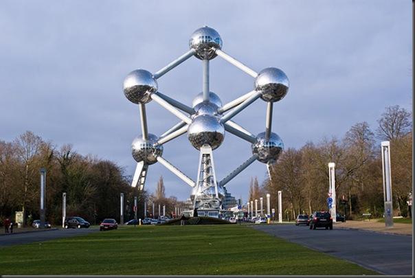 Atomium ( Brussels , Belgium)