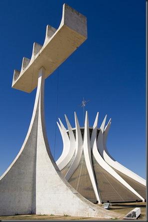 Cathedral of Brasilia ( Brazil)
