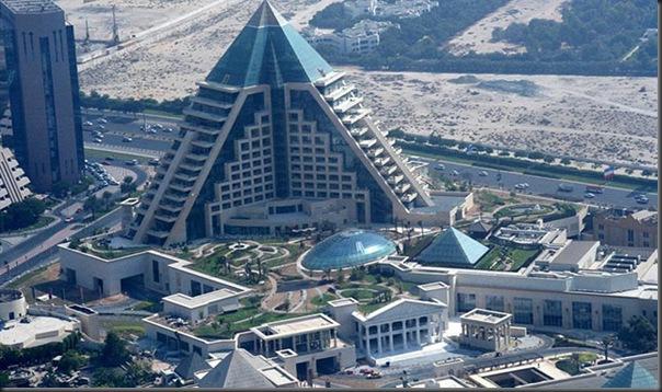 Raffles Dubai in Wafi city ( Dubai, UAE)