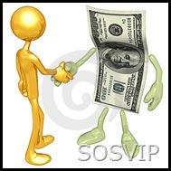 VIP negócios e dinheiro