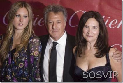 Dustin Hoffman & Alexandra