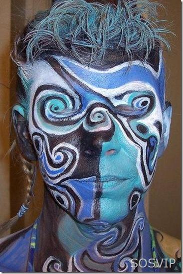 Bodypainting Pintura Facial (10)
