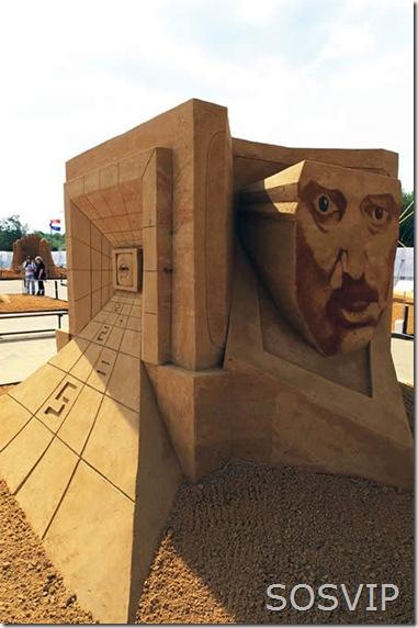 Esculturas de Areia (16)