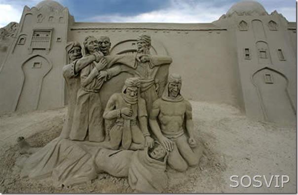 Esculturas de Areia (3)