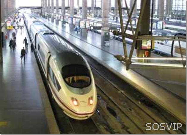 Trem espanhol