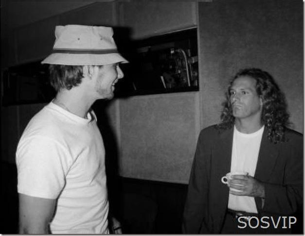 Christian Slater and Michael Bolton