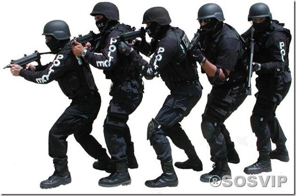 Polícia grupo