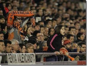 F . CALABUIG 26/02/09 FEBRERO . FUTBOL . PARTIDO DE COPA UEFA ENTRE EL VALENCIA CF Y EL DINAMO DE KIEV