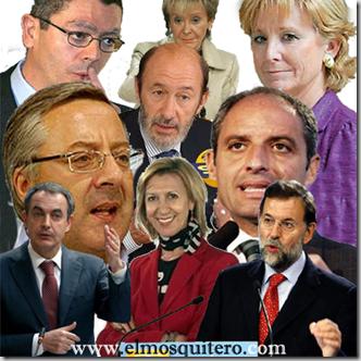 políticos españoles