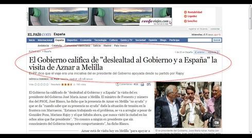 Aznar marruecos 2010