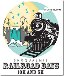Railroad days teeLogo