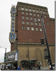 Paramount outside