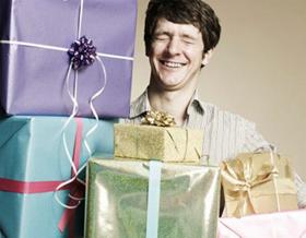 Распакуйте подарки
