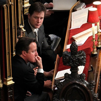 David Cameron & Nick Clegg