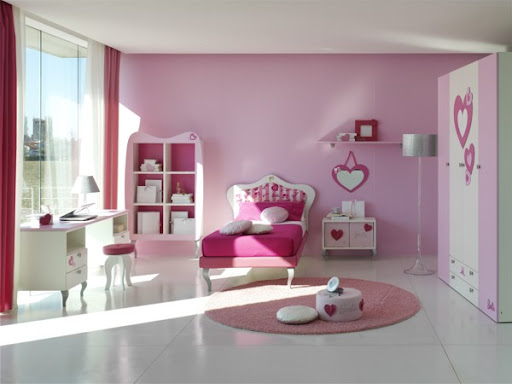 pink walls for bedrooms, colorful pink