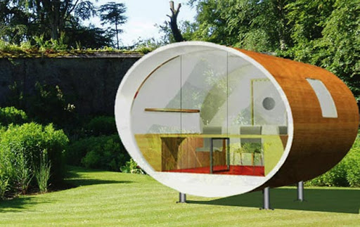 The Orb – Unique Architect Home Office Design