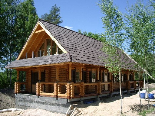 Log Cabin House Design Ideas