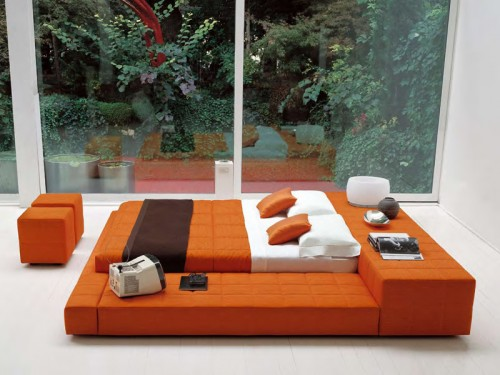 Squaring Penisola – Double Bed Design by Furnishism