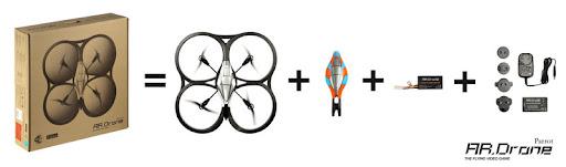 为你的iPhone插上翅膀-AR.Drone遥控飞行器