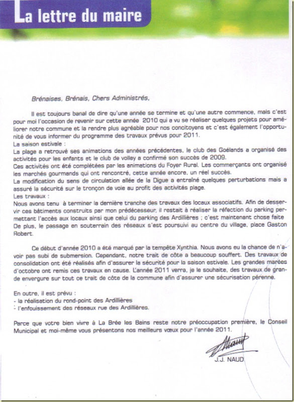 lettre maire 2