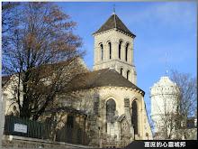 巴黎聖心堂旁的教會建築