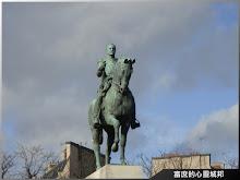 巴黎夏佑宮前福熙元帥的騎馬英姿