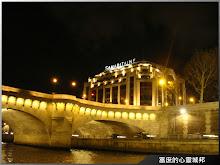 巴黎塞納河左岸夜色