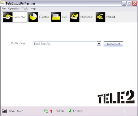 Tele2 Mobile Partner