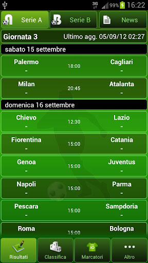 italian-football for android screenshot