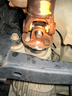 How To Install U Joints Without Removing Drive Shaft