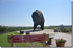 World's Largest Buffalo, Jamestown ND